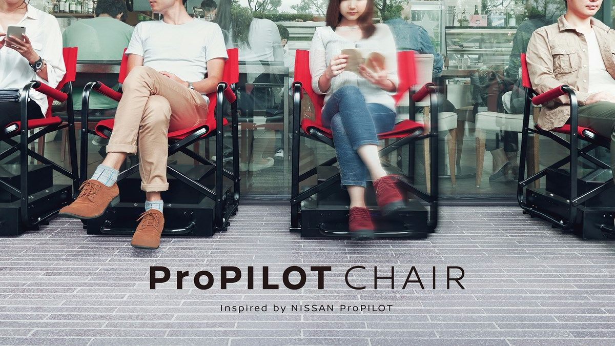 Nissan's ProPILOT Chair