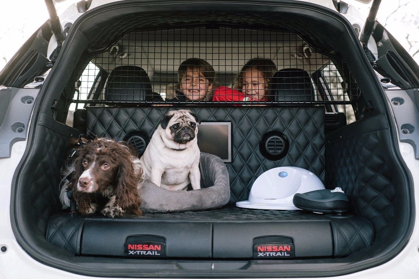 Nissan X-Trail 4Dogs – A Concept for our Four-legged Friends