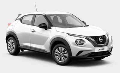Nissan Juke - Available In Arctic White