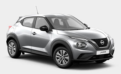 Nissan Juke - Available In Blade Silver