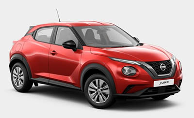 Nissan Juke - Available In Flame Red