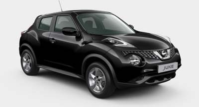 Nissan Juke - Available In Garnet Black