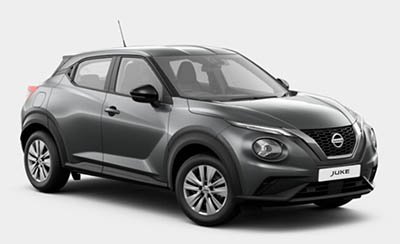 Nissan Juke - Available In Gun Metallic