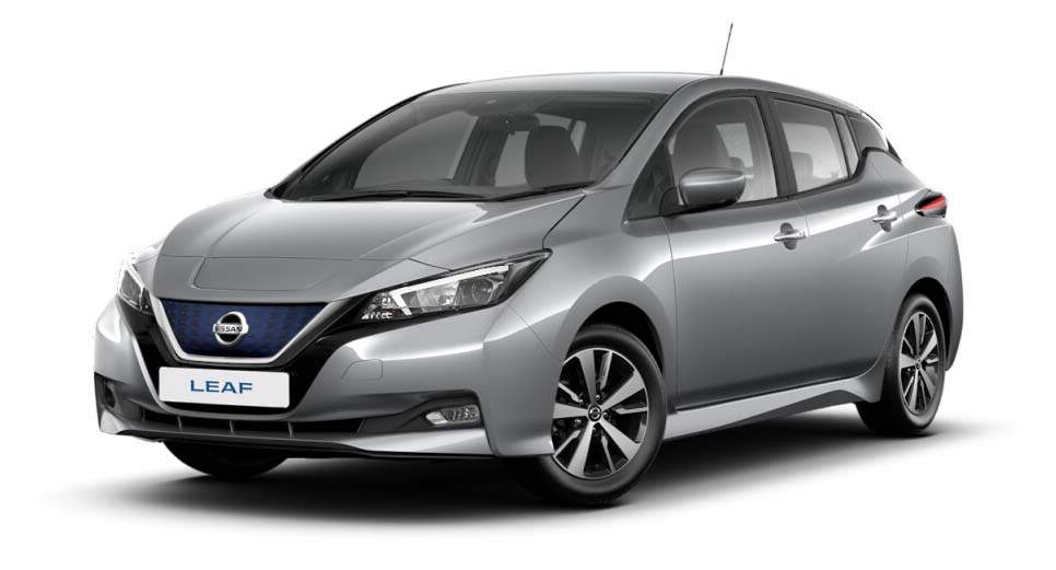 Nissan Leaf - Available In Blade Silver