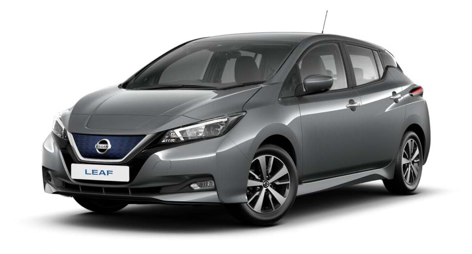 Nissan Leaf - Available In Gun Metallic