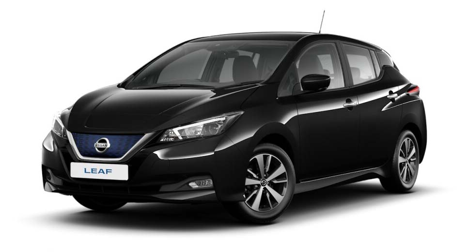 Nissan Leaf - Available In Pearl Black