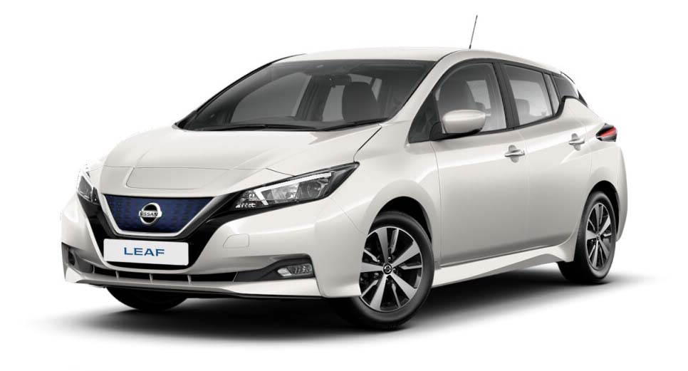 Nissan Leaf - Available In Storm White