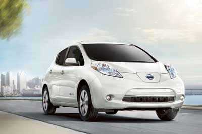 Nissan Leaf - Fun Driving Experience