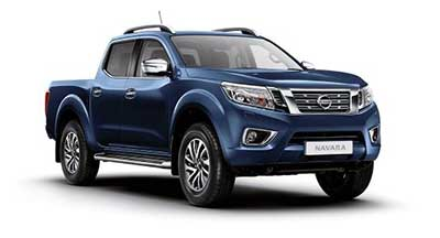 Nissan Navara - Available In Cayman Blue
