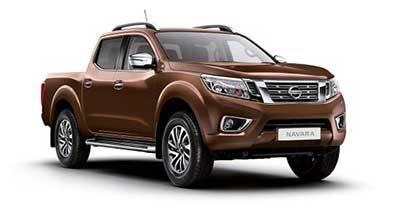 Nissan Navara - Available In Earth Bronze