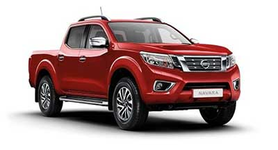 Nissan Navara - Available In Flame Red