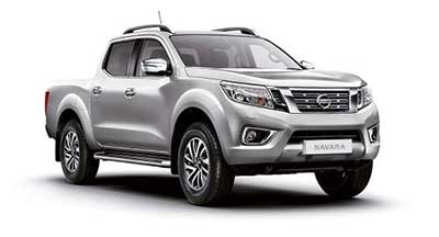 Nissan Navara - Available In Starburst Silver