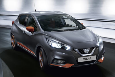 Nissan New Micra - Boot