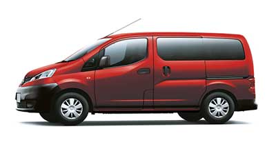 Nissan Nv200 Combi - Available In Flame Red