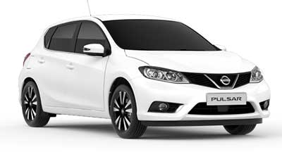 Nissan Pulsar - Available In Alabaster White