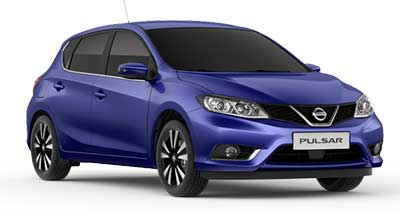 Nissan Pulsar - Available In Azure