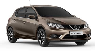 Nissan Pulsar - Available In Bronze