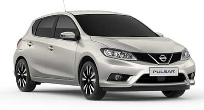 Nissan Pulsar - Available In Starburst Silver
