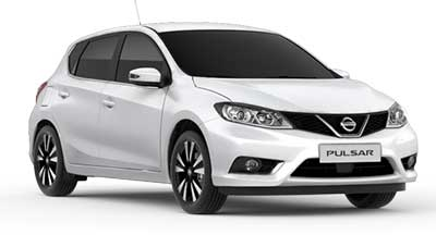 Nissan Pulsar - Available In Storm White