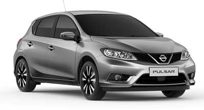 Nissan Pulsar - Available In Twilight Grey