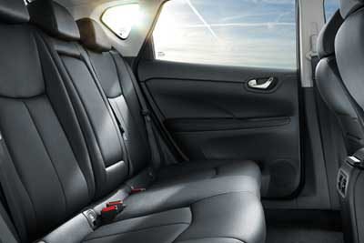 Nissan Pulsar - Plenty Of Interior Comfort And Space