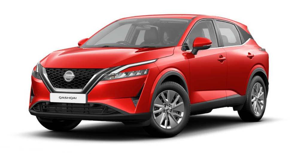 Nissan Qashqai - Available Flame Red