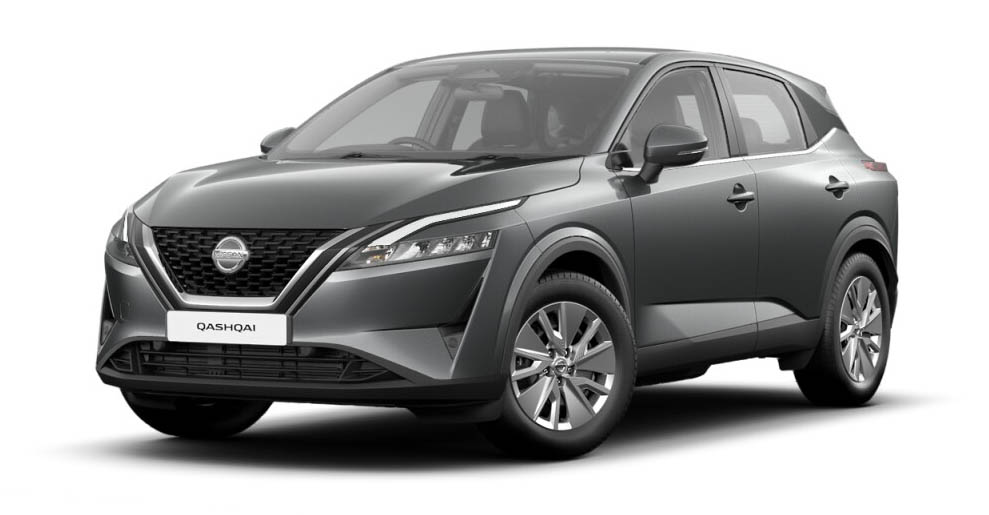 Nissan Qashqai - Available In Gun Metallic