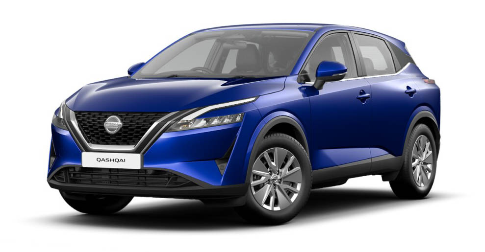 Nissan Qashqai - Available In Ink Blue