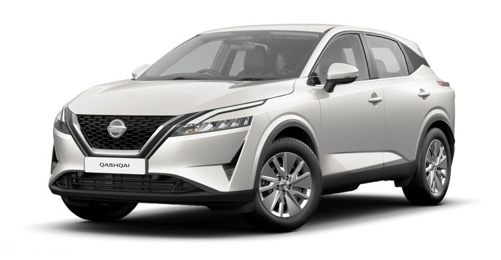 Nissan Qashqai - Available In Storm White